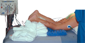 Patient positioning for selective posterior lumbar rhizotomy for spastic diplegia